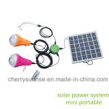 Maison à énergie solaire portative de système d'alimentation solaire de système en Inde