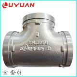 Тройник дуктильного утюга Grooved равный с утверждением UL для трубопровода воды