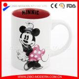 Embossed feito sob encomenda Ceramic 3D Mug