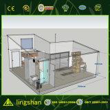 Estructura de acero de fábrica
