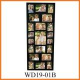Черная рамка коллажа фотоего (WD19-01B)