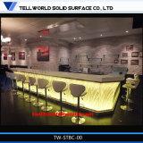 Tw de Bovenkanten van de Staaf van het Restaurant voor Teller van het Meubilair van de Staaf van de Verkoop de Acryl LEIDENE van de Staaf/voor Nachtclub