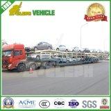 2/3대의 반 차축 수출용 자동차 운반선 수송 차량 트레일러
