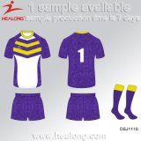 Healong Sport-Polyester-volle Farbe sublimiertes Rugby Jersey