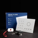 6 langages ont supporté l'alarme de cambrioleur de garantie avec le relais sans fil (ES-2002GSM)