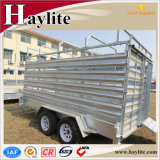 Tandemwellen-Bauernhof-Schlussteil verwendeter Viehbestand-Vieh-Schaf-transportierender Schlussteil des Fuss-10X5