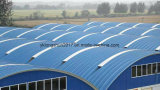 1250-800機械を形作る極度のスパンのアーチの屋根の鋼板ロール