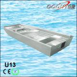 Tipo barco de alumínio da estabilidade U2.0 da parte inferior lisa