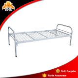 Schlafzimmer-Möbel-Militärstahlrahmen-einzelnes Metallbett