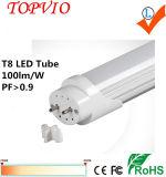 luz elevada da câmara de ar do diodo emissor de luz do lúmen T8 das baixas energias 18W de 1200mm