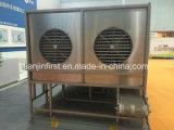 Réfrigérateur spiralé de surgélation pour le filet de poissons ou les fruits de mer surgelés de crevette