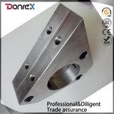 CNC que faz à máquina o suporte do rolamento do aço inoxidável