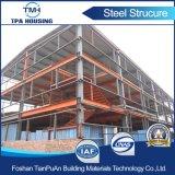 Planta de fábrica ligera prefabricada de la estructura de acero