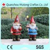 Statua bella di Gnome del giardino della resina per la decorazione domestica ed esterna
