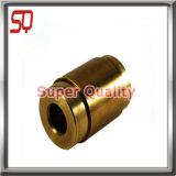 Peça mecânica de bronze da máquina de giro do torno do CNC da maquinaria elevada da linha de Percision