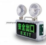 가벼운 2*3W LED 화재 비상등을 나가십시오