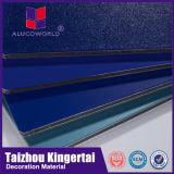 Hojas compuestas de aluminio revestidas del panel del PE caliente de la venta de Alucoworld