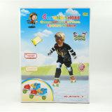 子供のための調節可能なローラースケートの靴の屋外スポーツのおもちゃ