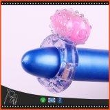 De Producten van het Geslacht van het Speelgoed van het geslacht voor de Trillende Ring van de Uitbreidingen van de Mensen van Volwassenen op de Mensen van de Penis buigen de Ring van de Vibrator van de Ring van de Penis van de Boog van de Regen van Ringen