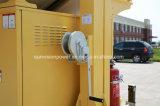 Movimentação do reboque da fiscalização pelo painel solar, CCTV da fiscalização