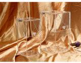 """Boîte de présentation acrylique claire de renivellement de balai, 3.9 """" X 3.9 """" pouce de X 8.3 """", 5mm Thinckness"""