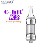 De g-Klap Seego van de Fabrikant van China de In het groot K2 Draagbare Elektronische Markt van Vape van de Verstuiver