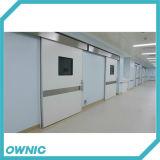 Portello scorrevole automatico della stanza di CT del portello di protezione dalle radiazioni del portello del cavo dei raggi X Zftdm-6