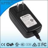 fonte do adaptador da potência do interruptor de 24V/1A/25W AC/DC com o plugue do padrão dos EUA