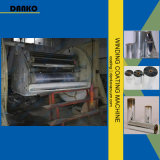 Máquina de capa del enrollamiento para la película de aluminio del laminado en la película plástica