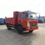 중국 쓰레기꾼 공급자 4X2 8ton 팁 주는 사람 트럭
