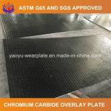 Плита верхнего слоя карбида хромия для готового смешанного бетона