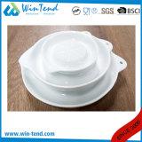 Grater branco do Juicer do limão da porcelana da cozinha comercial da forma redonda