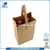 une variété grande de sac de papier de vin de modèles