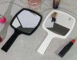 يدويّة بنية مرآة مع إطار أكريليكيّ