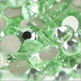 De la parte posterior plana del Rhinestone cristales al por mayor de la parte posterior plana de Hotfix no (zafiro FB-ss10)