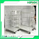 Nistbare 3 versahen metallhaltiger Rollenplastikbehälter mit Seiten