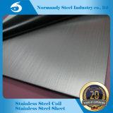 Feuille d'acier inoxydable ' de x8 d'AISI ASTM 4 201/304/202/410/430) (avec hl de fini