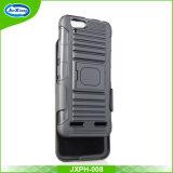 Caso de venda quente da tampa traseira do PC do suporte TPU do carrinho do anel do silicone para o sinal de adição de Lenovo Vibe K5 com grampo da correia
