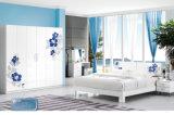 ベストセラーの現代大人の寝室セットの木の寝室の家具(H215)
