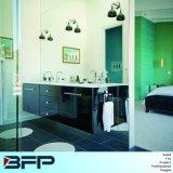 Dunkle Farben-Lack-Schrank mit Spiegel und für Landhaus angepasst