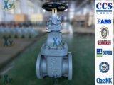 Válvula de porta marinha JIS do ferro de molde F7363 5k
