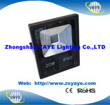 Yaye 18 heißer Verkaufs-gutes Preis PFEILER 20W LED Flutlicht/im Freienled-Flut-Licht /LED, das 20W beleuchtet