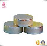 Casquillo poner crema de aluminio cosmético de encargo del metal del tarro para la venta