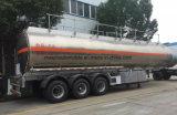 40000 litres d'alliage d'aluminium de camion-citerne 40000 L remorque d'essence d'acier inoxydable semi