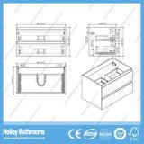 Шкаф ванны популярного меламина законченный с 2 ящиками (BF325D)