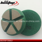 Tampón para pulir de cerámica seco de 3 pulgadas para el concreto