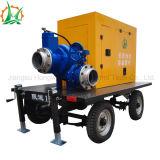 Auto Emergency do motor Diesel de controle de inundação que apronta a bomba de água centrífuga