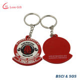 Customized Emboss Logo Rubber / PVC Keychain