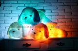 La belle peluche de lueur de crabot de nuit de peluches créatrices de la lumière DEL joue des cadeaux pour les gosses 20-Inch