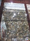 Строительный материал плитки пола черного цвета микро- кристаллический